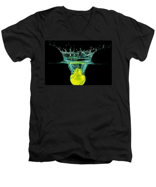 Tennis Ball Men's V-Neck T-Shirt