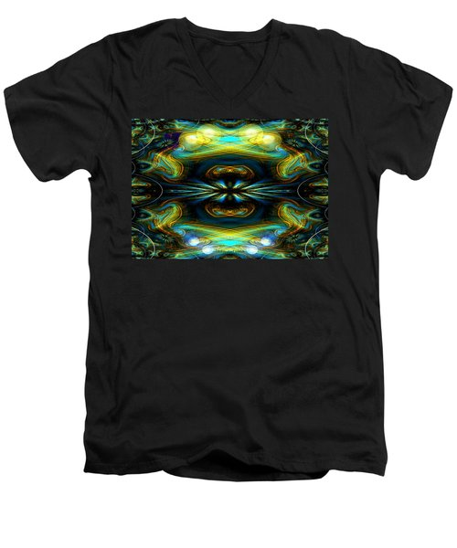 609 - Lucid Infinity .... Men's V-Neck T-Shirt