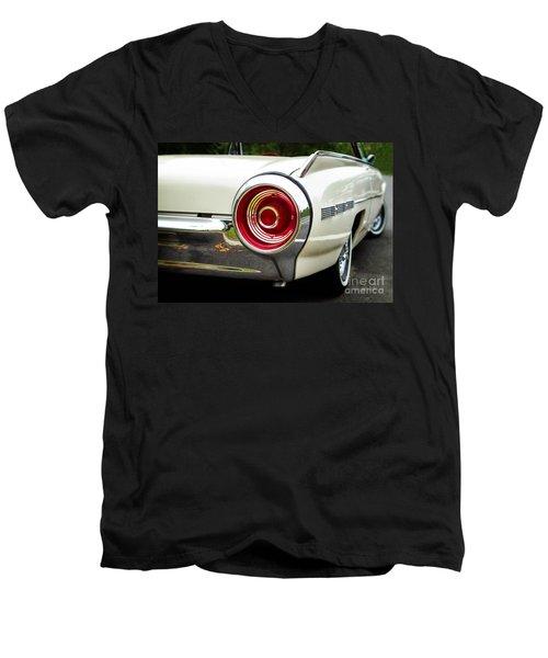 62 Thunderbird Tail Light Men's V-Neck T-Shirt by Jerry Fornarotto