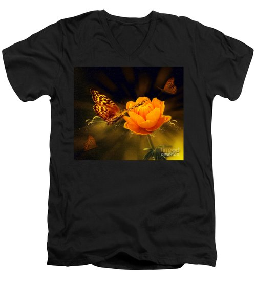 Spring Time Men's V-Neck T-Shirt