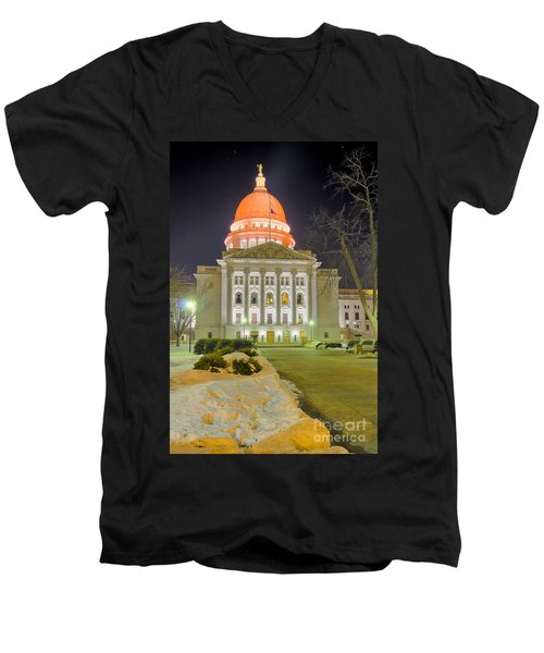 Madison Capitol Men's V-Neck T-Shirt