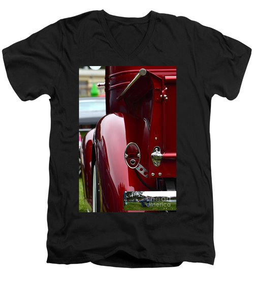 Classic Chevy Pickup  Men's V-Neck T-Shirt
