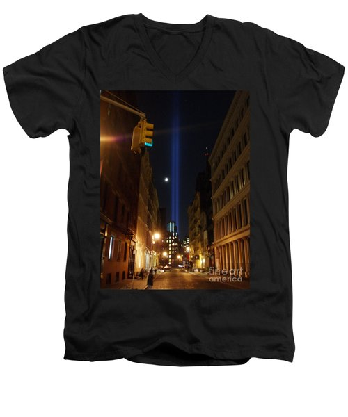 9-11-2013 Nyc Men's V-Neck T-Shirt
