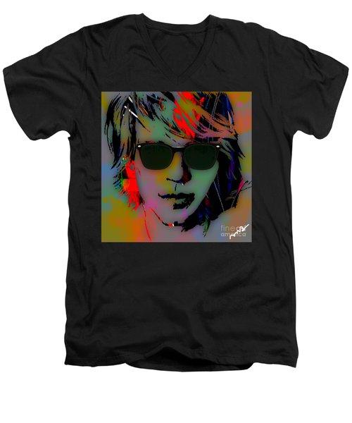 Jon Bon Jovi Collection Men's V-Neck T-Shirt