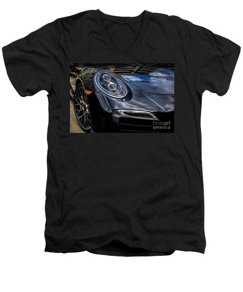 911 Turbo S Men's V-Neck T-Shirt