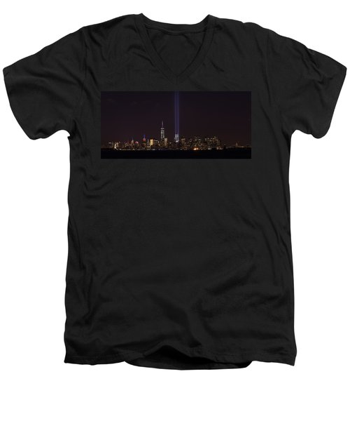 9.11.2014 Men's V-Neck T-Shirt