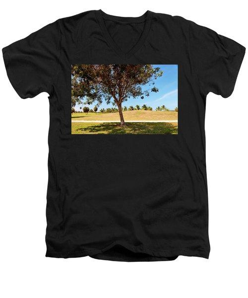 96 Degrees In Da Shade Men's V-Neck T-Shirt by Amar Sheow