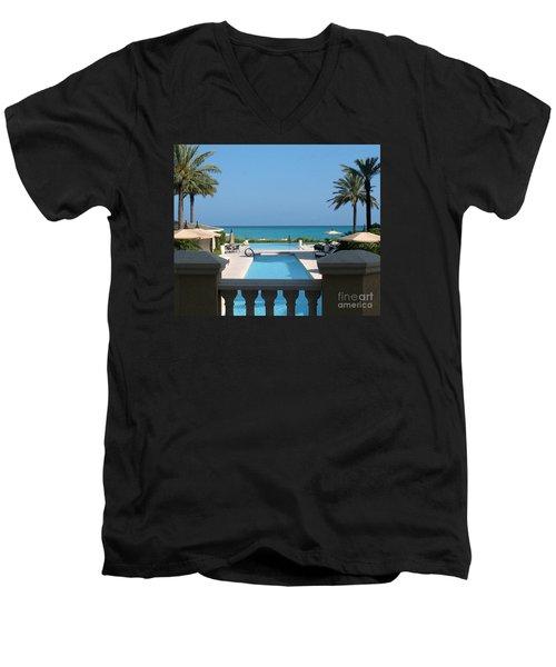 A Beautiful View Men's V-Neck T-Shirt