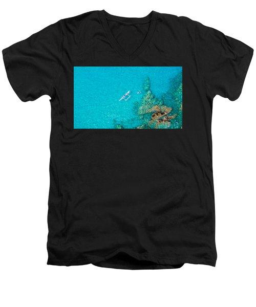 A Bird's Eye View Men's V-Neck T-Shirt