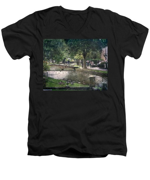 A Bit Of Rain Men's V-Neck T-Shirt