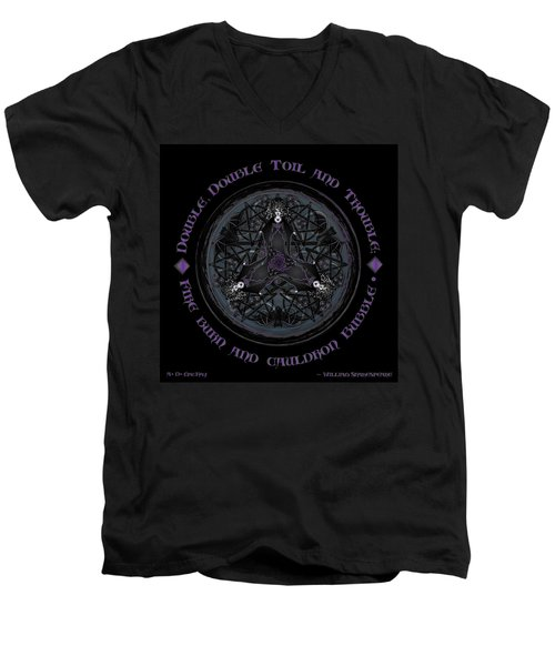 A Celtic Witches' Brew Men's V-Neck T-Shirt