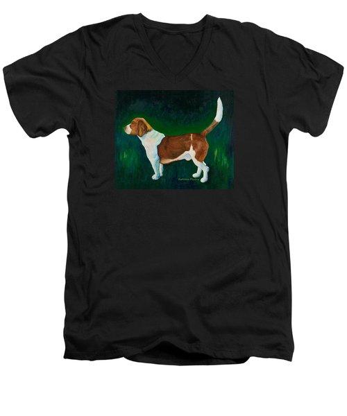 A Field Of Green Men's V-Neck T-Shirt