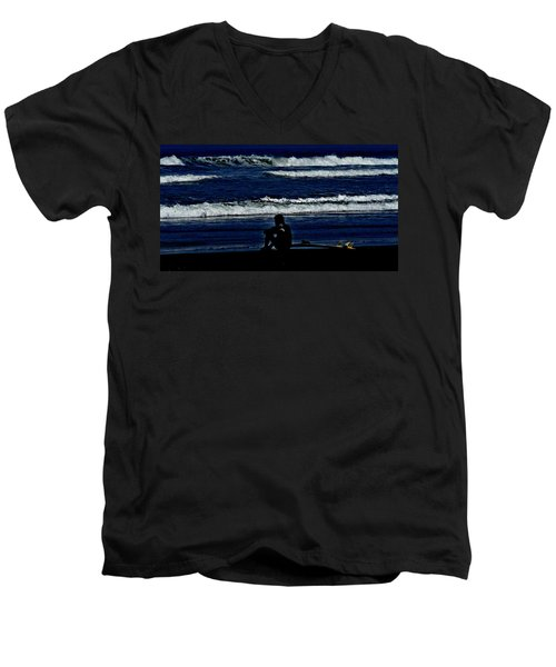 A Gr8 Ride Men's V-Neck T-Shirt