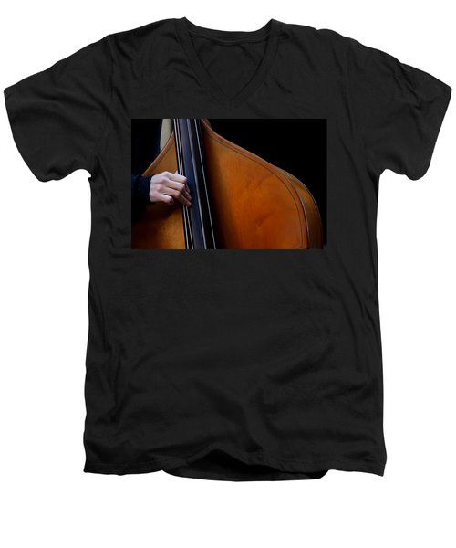 A Hand Of Jazz Men's V-Neck T-Shirt