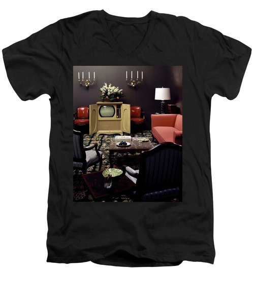 A Living Room Men's V-Neck T-Shirt
