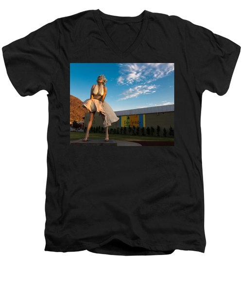 A Marilyn Morning Men's V-Neck T-Shirt