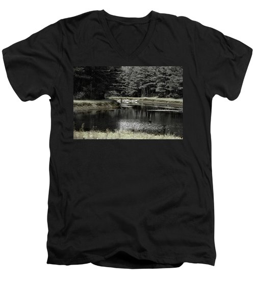 A Pond Men's V-Neck T-Shirt