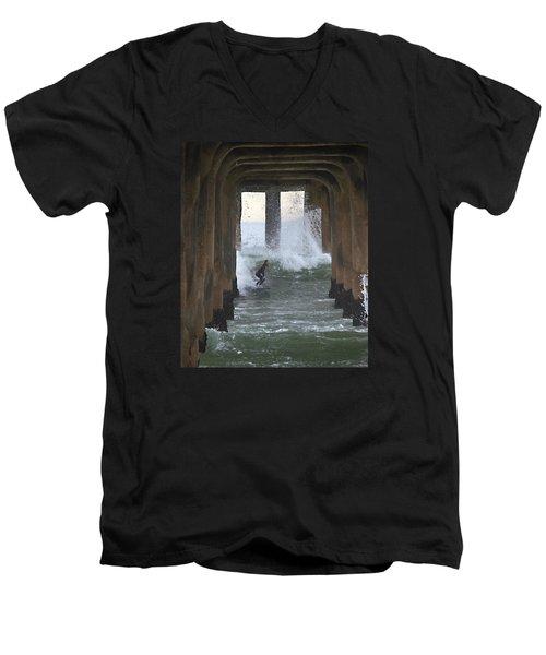 A Rite Of Passage Men's V-Neck T-Shirt by Joe Schofield