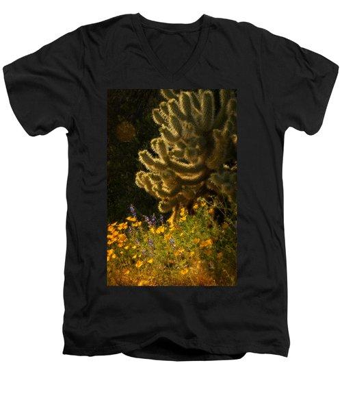 A Southwestern Spring  Men's V-Neck T-Shirt