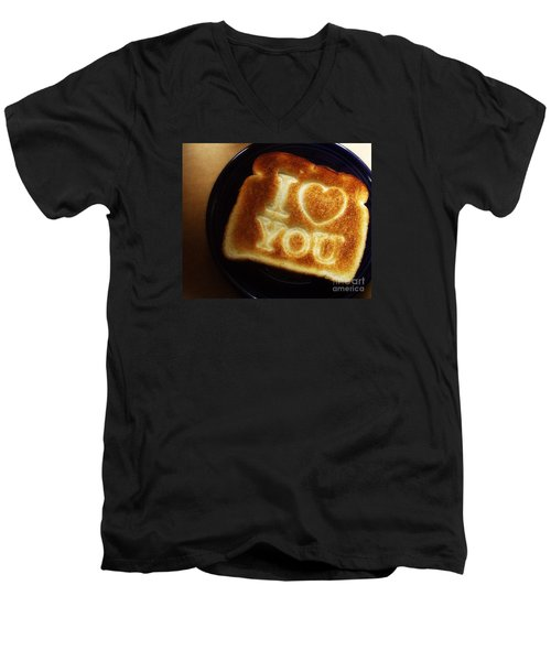 A Toast To My Love Men's V-Neck T-Shirt by Kristine Nora