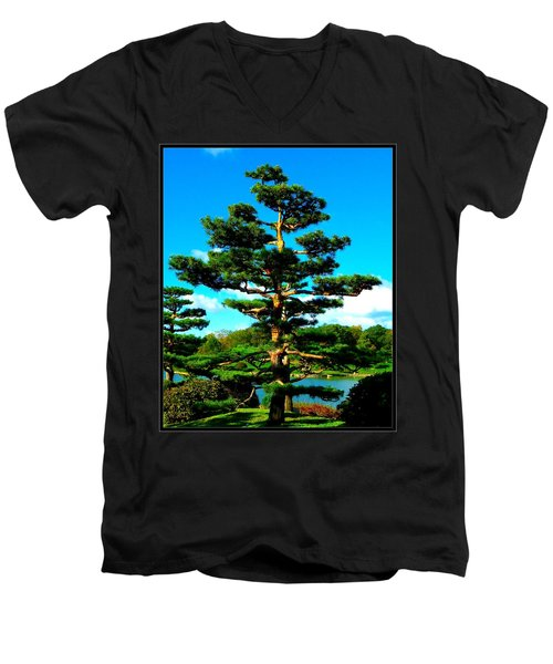 A Tree... Men's V-Neck T-Shirt