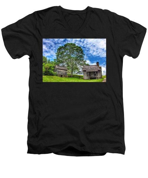A Trip Back In Time Men's V-Neck T-Shirt