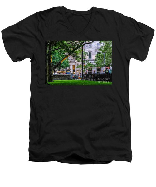A View From Central Park Men's V-Neck T-Shirt