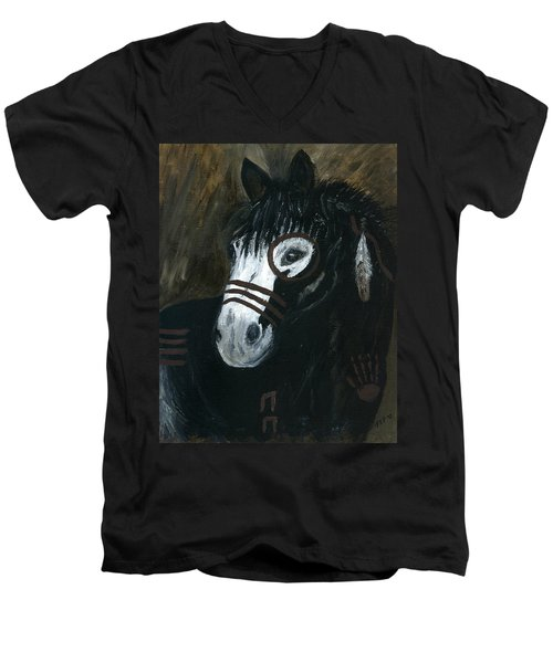 A War Pony Men's V-Neck T-Shirt