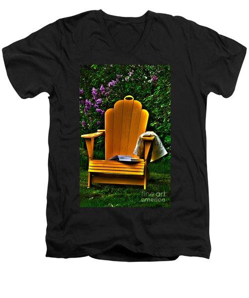 A Well Deserved Rest Men's V-Neck T-Shirt
