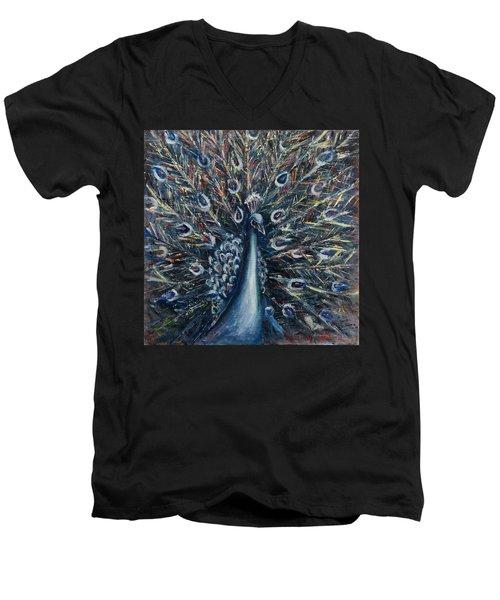 A White Peacock Men's V-Neck T-Shirt