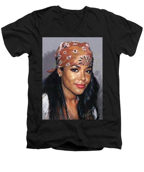 Aaliyah Men's V-Neck T-Shirt