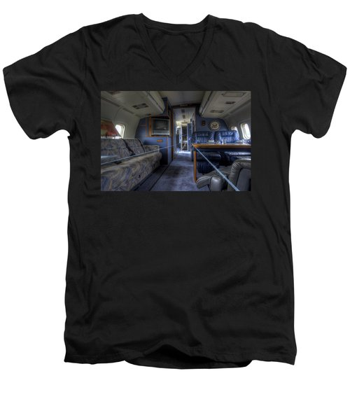 Aboard Air Force Two Men's V-Neck T-Shirt