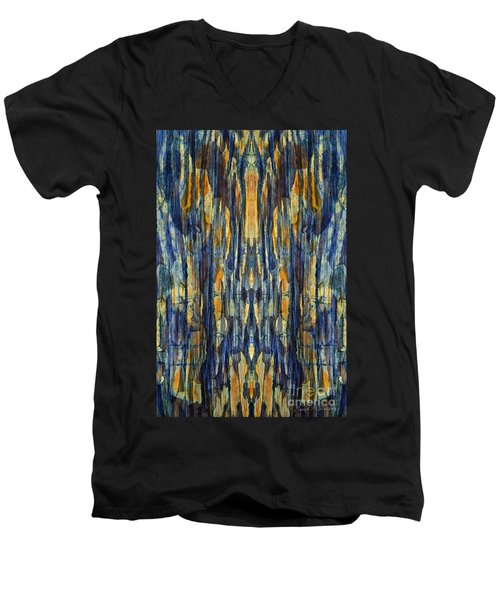 Abstract Symmetry I Men's V-Neck T-Shirt