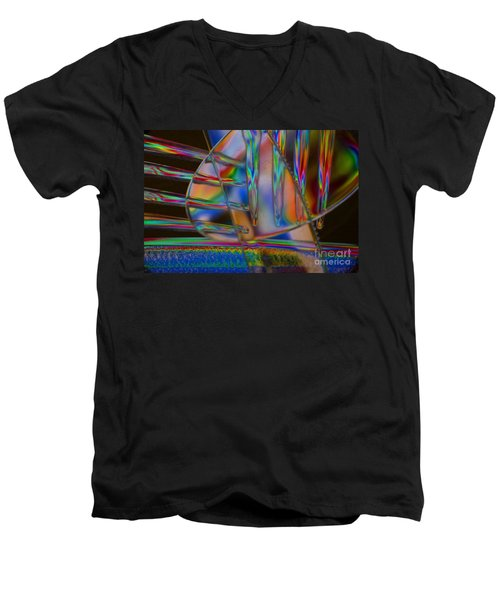 Abstraction In Color 1 Men's V-Neck T-Shirt