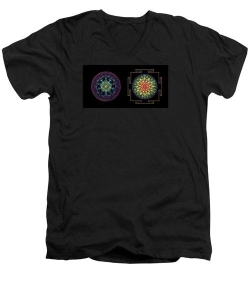 Abundance  Prosperity Men's V-Neck T-Shirt