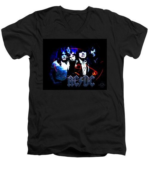 Ac/dc - Rock Men's V-Neck T-Shirt
