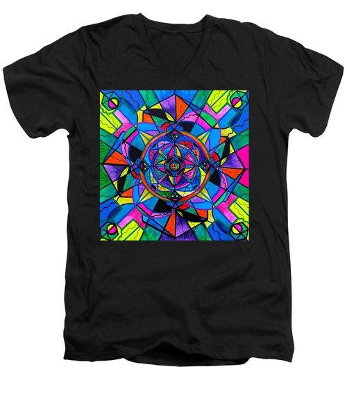 Activating Potential  Men's V-Neck T-Shirt