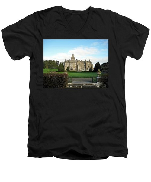 Adare Manor  Men's V-Neck T-Shirt