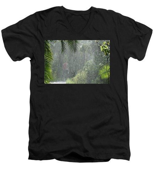 African Rain Men's V-Neck T-Shirt