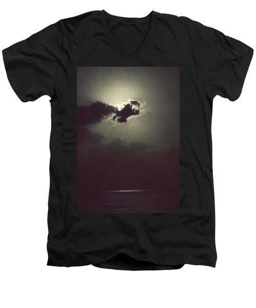 Men's V-Neck T-Shirt featuring the photograph After The Storm by Melanie Lankford Photography
