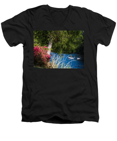 Afternoon Swim Men's V-Neck T-Shirt