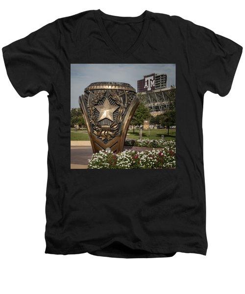 Aggie Ring Men's V-Neck T-Shirt