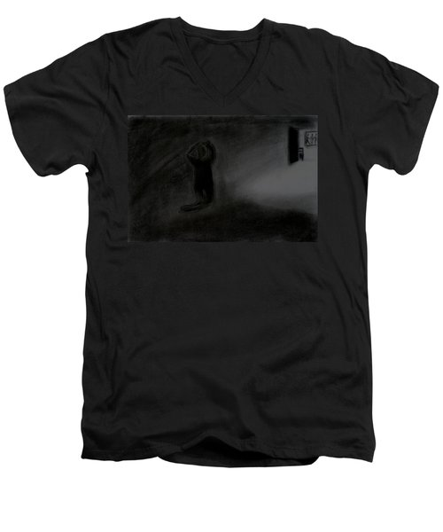Agony Of The Outside World 1 Men's V-Neck T-Shirt