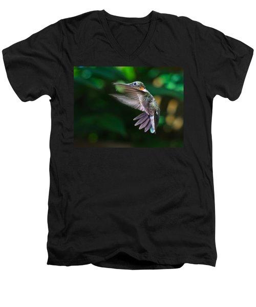 Air Brakes Men's V-Neck T-Shirt