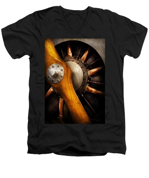 Air - Pilot - You Got Props Men's V-Neck T-Shirt