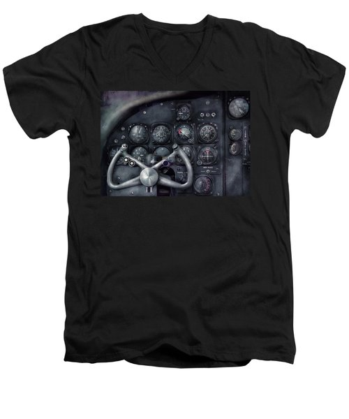 Air - The Cockpit Men's V-Neck T-Shirt