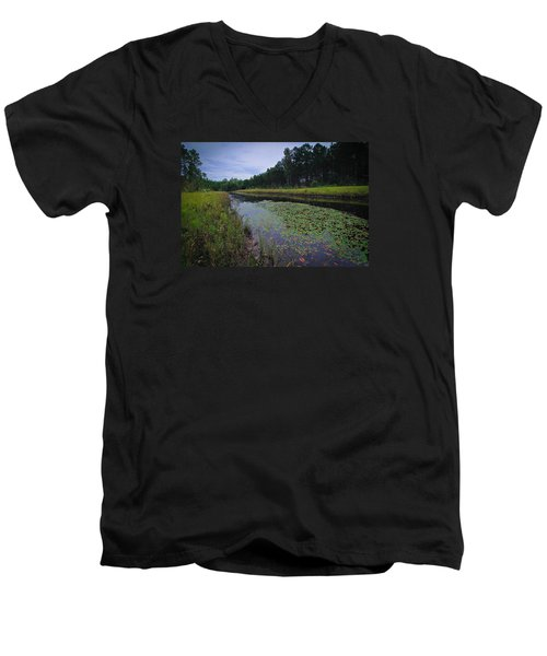 Men's V-Neck T-Shirt featuring the photograph Alabama Country by Julie Andel