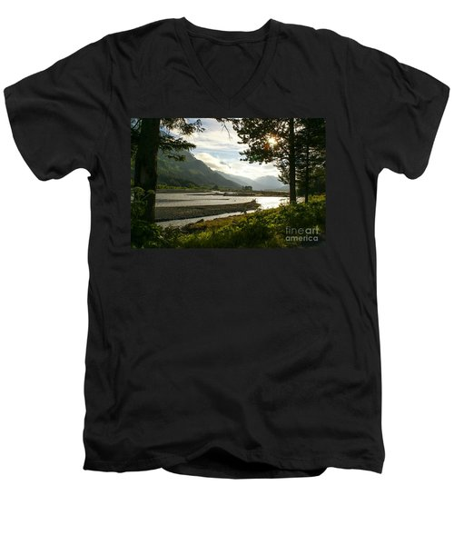 Alaskan Valley Men's V-Neck T-Shirt