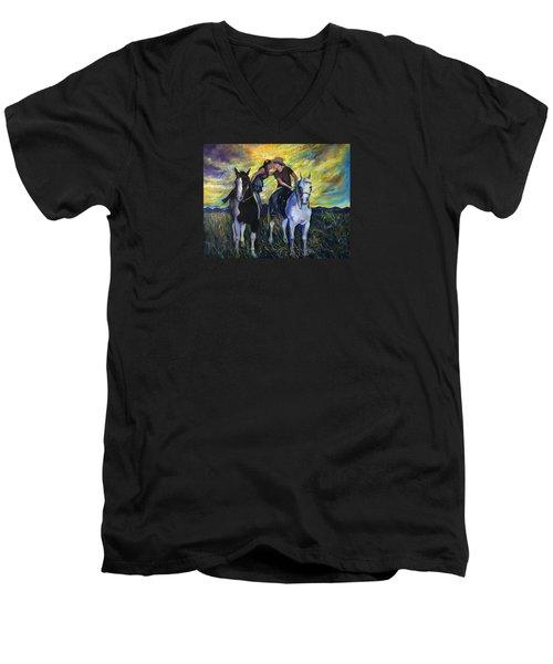 Alberta Kiss Men's V-Neck T-Shirt