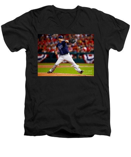 Alex Cobb #53 Men's V-Neck T-Shirt